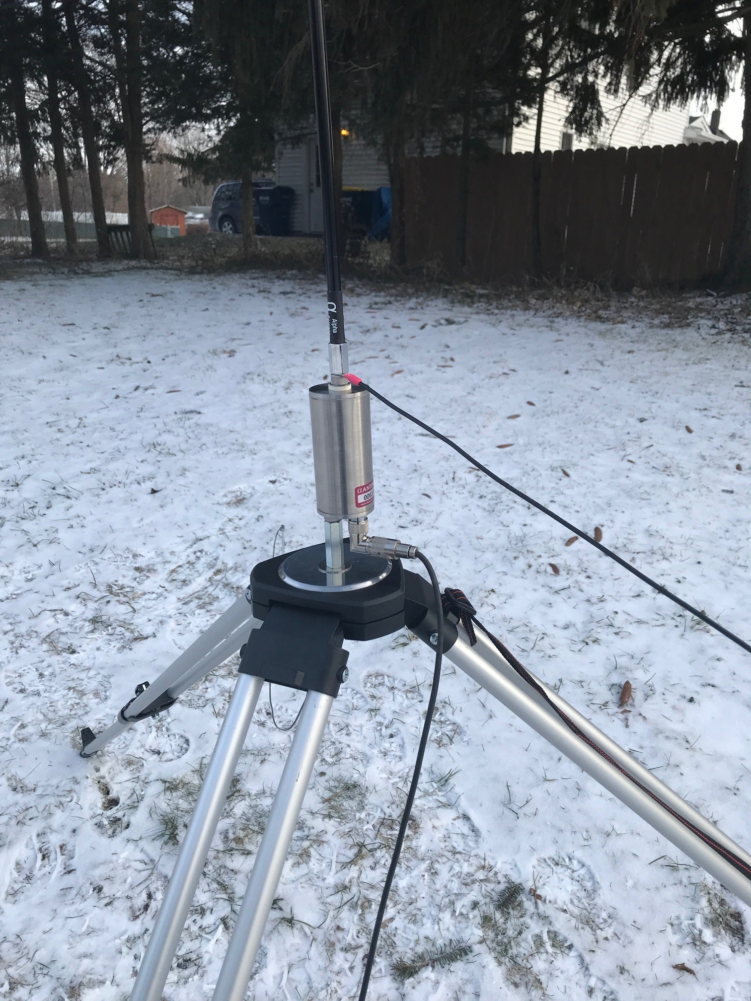Alpha Antenna 80m – 6m Military Review — WFD UPDATES!